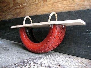 Tape-cul en pneu