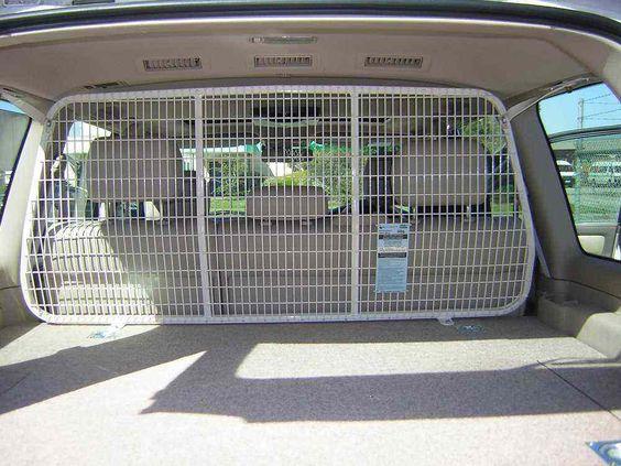 Car Dog Barrier: Dog Barrier, Diy Car And Cars On Pinterest