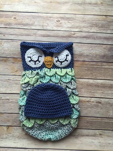Owl Cocoon & Hat
