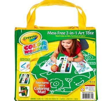 Color Wonder Mess Free 2 in 1 Art Tote