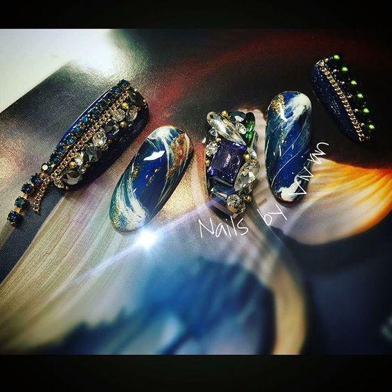 衛星雲圖 x 暈色  #3dgel  #nailart #nail #naildesign #nails #design #art #girls #手描きアート #instasize #ジェルネイル #네일 #네일아트 #指甲 #美甲 #ネイル #ネイルサロン #ネイルデザイン #ベラフォーマ #ベトロ #光療凝膠 #光療  #hestia #vivian
