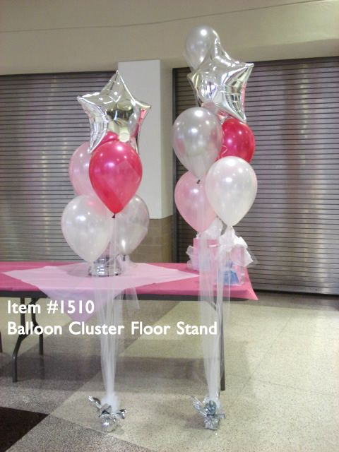 Item balloon bouquet with star topper a giant
