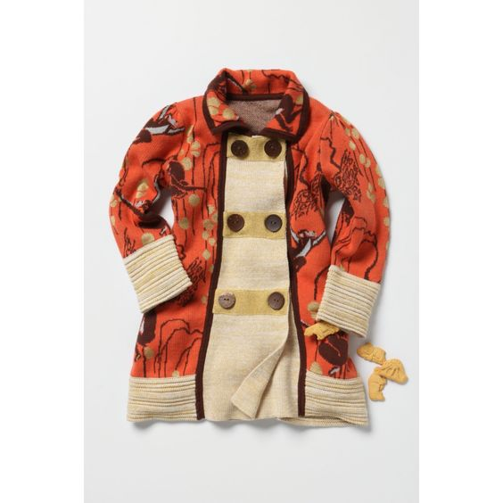 Monkey Business toddler coat by Lia Molly from Anthropologie for Christmas