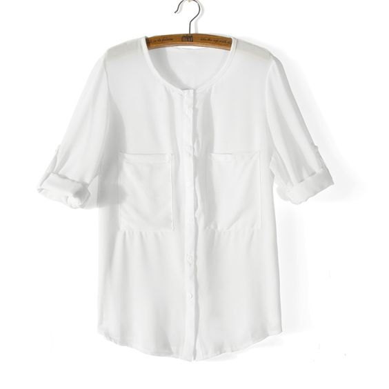 Loose Chiffon Shirt