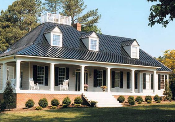 Pinterest the world s catalog of ideas for Tin roof styles