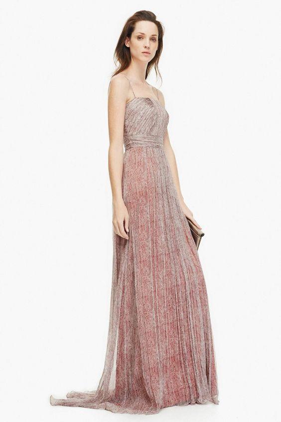 Vestido de seda con bustier plisado vestidos adolfo for Adolfo dominguez outlet online