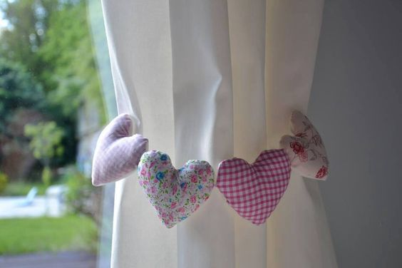 Prendedor de cortina proyectos que intentar pinterest - Apliques para cortinas ...