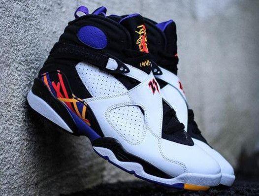 nike blazer pas cher grise - Nike Air Jordan 8 Retro Three Peat | #BASKETBALL SHOES | Pinterest ...