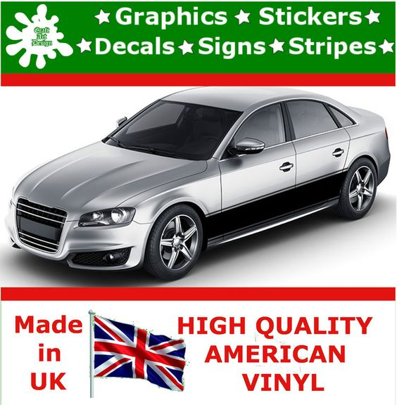 20 racing stripes sticker vinyl decal art car auto rally graphics viper hi18 20