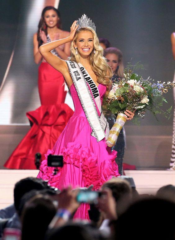 Olivia Jordan (aka, Miss Oklahoma) has been crowned Miss USA 2015.