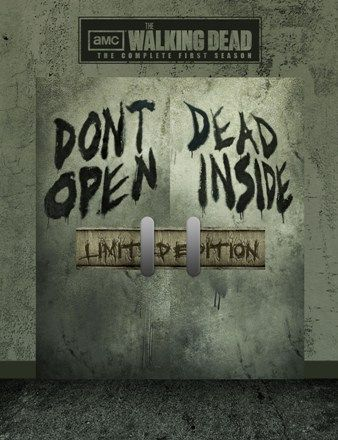 Alternate Packaging Design For the Walking Dead Season 1 Blu-Ray. View more at http://www.j2productionz.com/blog