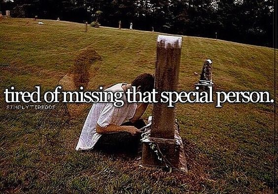 Tired of missing that special someone.
