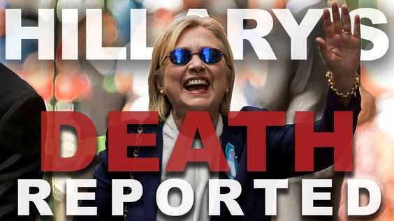 Nightly News Reports Hillary's Death