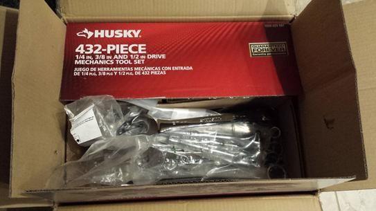 Husky Mechanics Tool Set 432 Piece H432mts At The Home Depot Mobile Mechanics Tool Set Diy Mechanics Tool Set