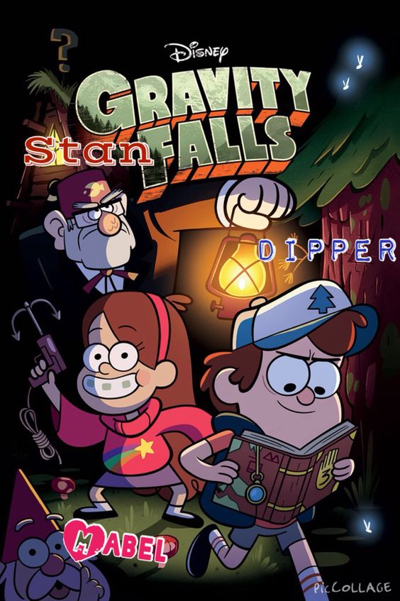 Gravity falls collage