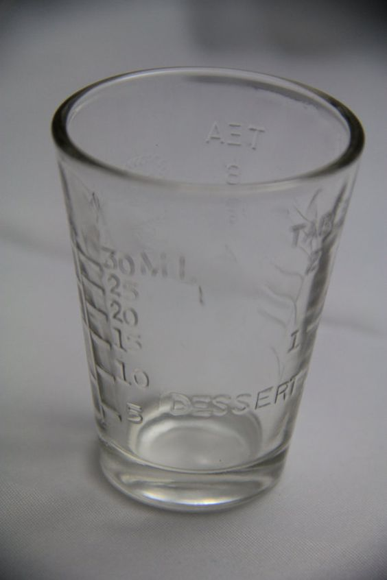 Shot Glass In Ml