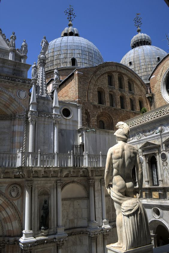 StatuesMonumentArchitecture  ArtEurope  Towers  Venice  Italy