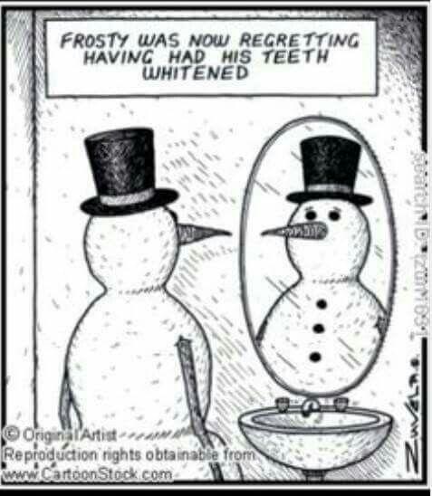 Frosty Dental Fun Dental Jokes Dental Humor
