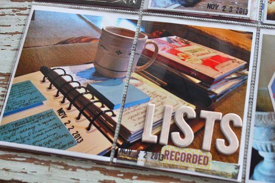 Mish Mash: Project Life 2013, Week 47 using December Gossamer Blue