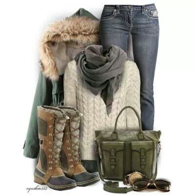 Going somewhere arctic? Great style for cold rugged travel destinations.