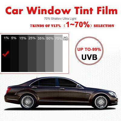 Sponsored Link 1 Vlt Darkest Black Car Home Glass Window Tint