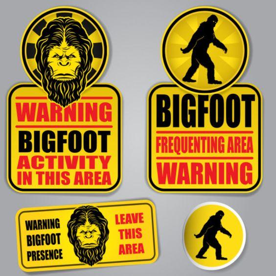 Bigfoot & Things that Go Bump in the Night: Imaginative #SocialMedia #Campaigns