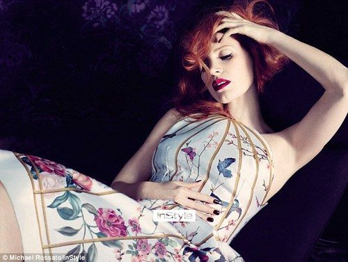Jessica Chastain - InStyle by Michael Rossato, February 2013