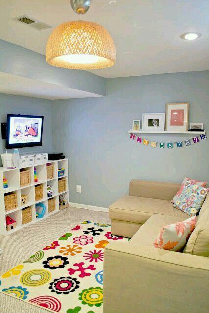 Kids TV room.-Bailey