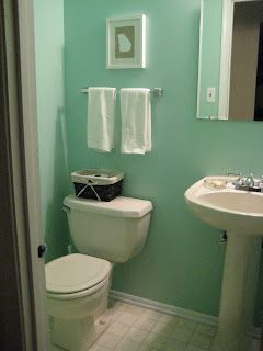 Glass paint half baths and sea glass on pinterest for Martha stewart glass paint colors