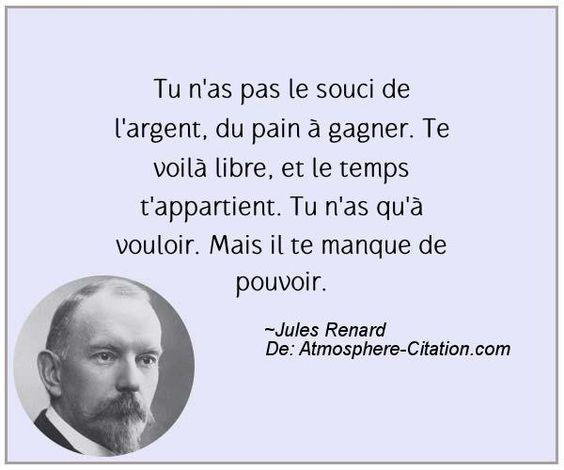 Citation de Jules Renard - Proverbes Populaires