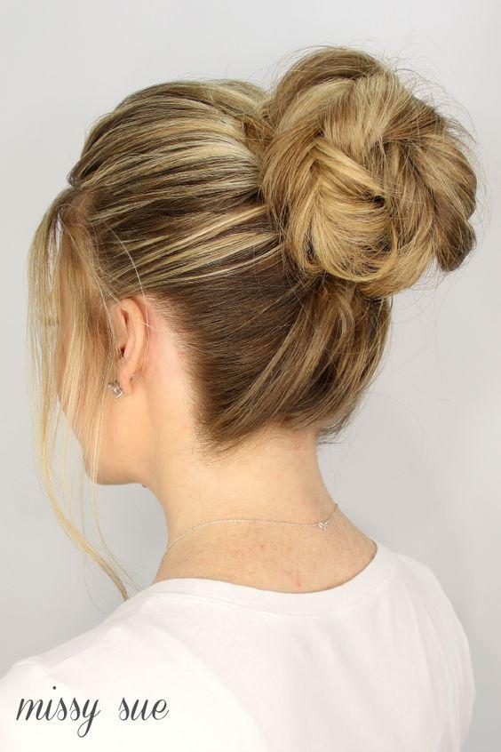 fishtail-braid-high-bun