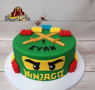 Groovy Ninjago Cake By Dream Cakes Chicago With Images Ninjago Cakes Funny Birthday Cards Online Inifofree Goldxyz