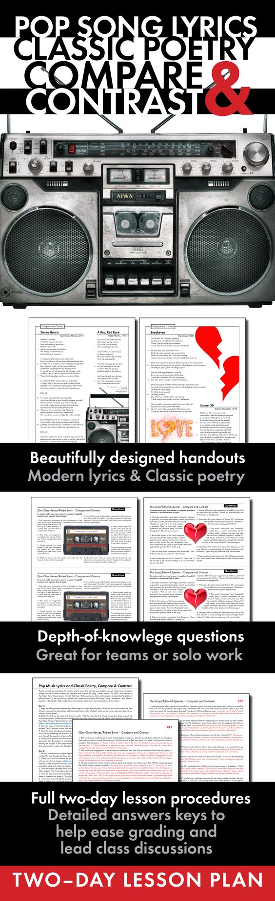 Compare and contrast essay music