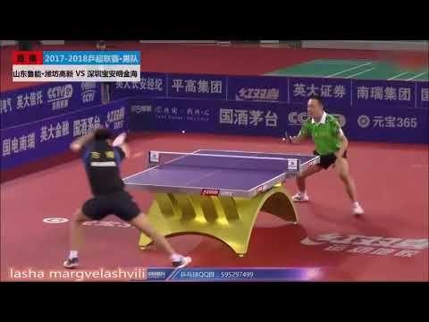 Xu Chenhao Vs Fang Bo China Super League 2018 League Table Tennis Basketball Court