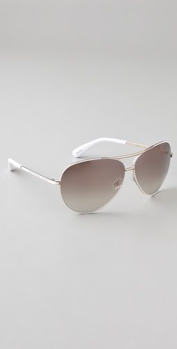 Marc by Marc Jacobs Oversized Aviator Sunglasses - StyleSays