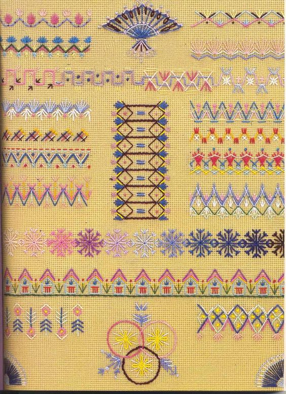Embroidery sampler pinterest stitches