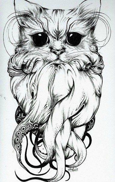 tattoo sketch, i like it