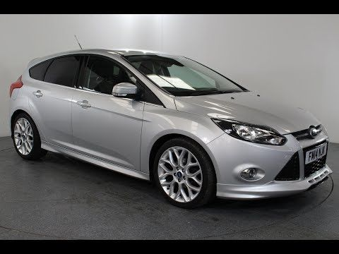Ford Focus 1 6 Tdci Zetec S Air Conditioning In Silver With