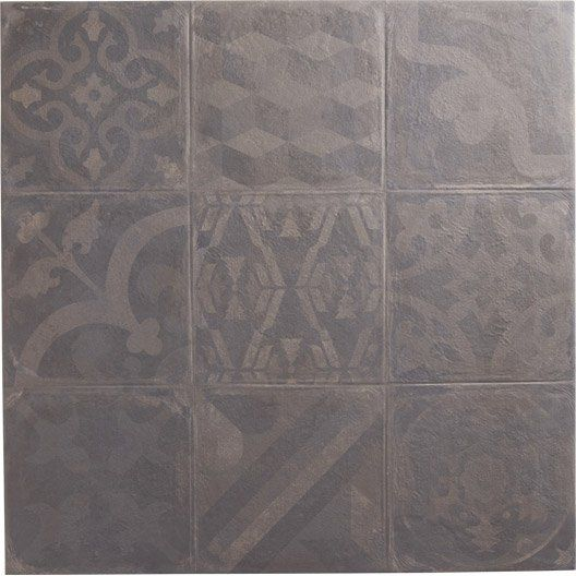 Carrelage int rieur cosy artens en gr s graphite 60 x for Carrelage 60 60