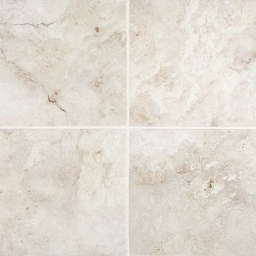 Esta Villa Collection Garden White Porcelain 12x12 Porcelain Floor Tiles Daltile Porcelain Flooring