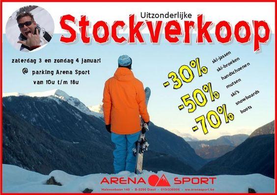 Uitzonderlijke stockverkoop Wintersport -- Diest -- 03/01-04/01