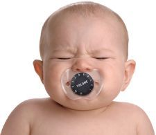 Chill Baby Volume Pacifier | Stupid.com
