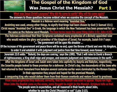 They follow the Lamb wherever he goes: The Gospel of the Kingdom - Was Jesus…