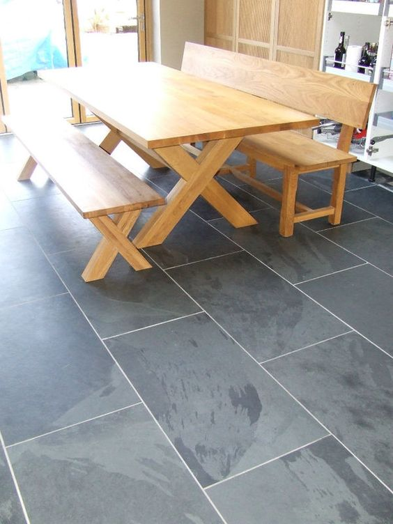 Best Details About Black And Grey Slate Floor Wall Tiles Tiles 400 x 300