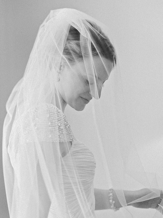 Classic black & white bridal portrait: Photography : Amy Arrington Photography Read More on SMP: http://www.stylemepretty.com/2016/02/11/classic-springtime-dunaway-gardens-wedding/