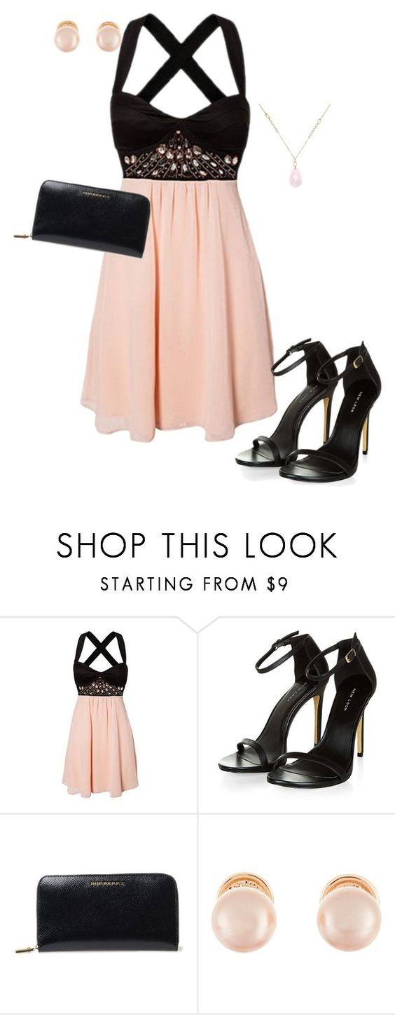 """Untitled #571"" by summerloveforever335 ❤ liked on Polyvore featuring Burberry, Kenneth Jay Lane and White House Black Market"