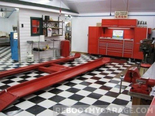 109 Amazing Garage Floor Tile Designs Floor Tile Design Car