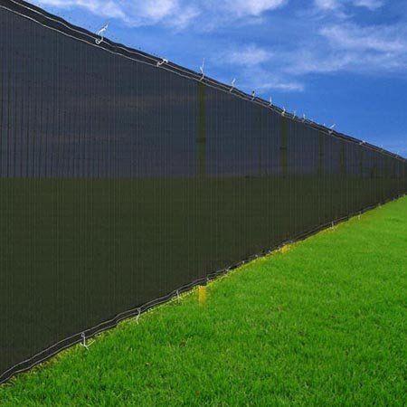 6 39 x 50 39 black windscreen fence screen mesh privacy scrim for Cloth privacy screen