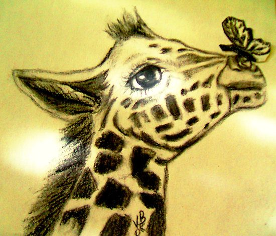 cute baby giraffe drawing - Google Search | Asher's Room ...