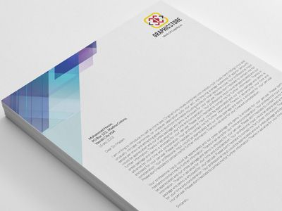 Corporate Letterhead with Word Docs by Shuja